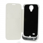 4800mAh Rechargeable Power Battery Case for Samsung Galaxy S4 / i9500 - White + Black