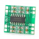 GF-007 Mini Digital Audio Amplifier Board - Green