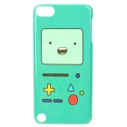 Cute Game Console Style Protective Back Case for Ipod Touch 5 - Green