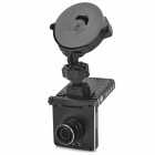 "GS4000 2.0"" TFT FHD 1080p 5.0 MP CMOS 140 Wide Angle Degree Car DVR w/ G-Sensor / GPS / HDMI - Black"
