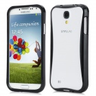 Protective Detachable Aluminum  Alloy Bumper Frame for Samsung Galaxy S4 / i9500 - Black