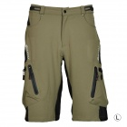 NUCKILY NS357 Men's Outdoor Sport Nylon + Spandex Shorts - Army Green (Size L)