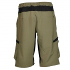 NUCKILY NS357 Men's Outdoor Sport Nylon + Spandex Shorts - Army green (Size XL)