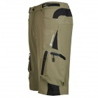NUCKILY NS357 Men's Outdoor Sport Nylon + Spandex Shorts - Army green (Size XXL)