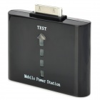 "External ""1000mAh"" Power Battery Charger for iPhone 4 / 4S - Black"
