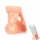U-dilis Bowknot Mobile Phone Bracket Stand - Barbie Pink