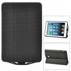 External 5000mAh Power Battery Charger w/ PU Leather Case for iPad Mini - Black