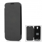 3800mAh Rechargeable Power Battery Case for Samsung Galaxy S4 / i9500 - Black
