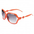 LANGTEMENG 56333163 Fashion Elegante Damen UV400 Schutz Sonnenbrille - Orange