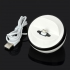 Micro USB Charging Dock Cradle for Samsung Galaxy S4 / i9500 - White + Black