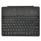 HB-0817 Bluetooth V3.0 Wireless 78-Key Keyboard for Ipad 2 / 3 / 4 - Black + Silver
