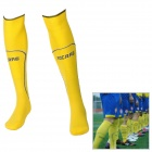SS1301-YL Combed Cotton + Yarn Football Socks - Yellow (Pair)