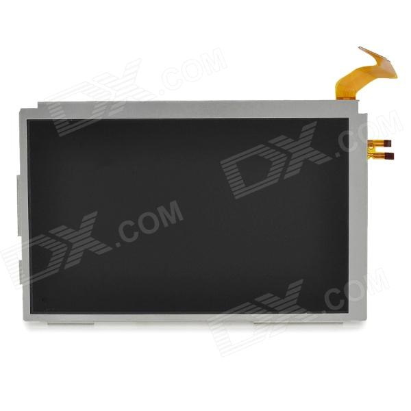 SHARP Replacement Upper LCD Screen Module for Nintendo 3DS XL / 3DS LL - Silver replacement touch screen digitizer module for nintendo dsi xl ll page 2