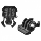 HR71-GY Mount Clip for GoPro Hero 4 / 3+ / 3 / 2 / 1, SJ4000 - Black