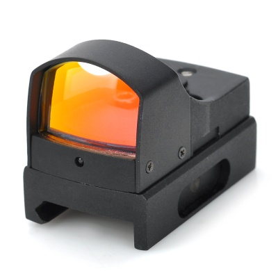Light-Operated Red Dot Rifle Scope