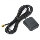1575.42MHz SMA Male RG174 Cable Car External GPS Navigator Antenna - Black (300cm-Cable) - Car GPS Car Accessories