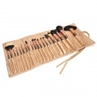 MAKE-UP FOR YOUR Professional Cosmetic Makeup Brushes Set - Champagne (20 PCS)