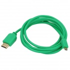 1080p HDMI Male to Micro HDMI Male Cable - Green (150 cm)