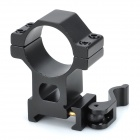 30mm Stahl Einstellbare Tactical Flashlight Laser Scopes Gun Mount - Schwarz