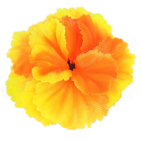 SH205 Artificial Soft Coral Decoration for Fish Tank - Orange
