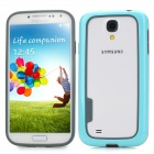 Baseus Protective TPU + PC Bumper Frame for Samsung i9500 / i9508 / i9502 / i959 - Blue + Grey