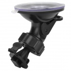 360 Degree Rotation Car Suction Cup Holder Stand for DV / Car DVR / Camera - Black