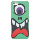 Protective Plastic Case for Iphone 5 - Green + Black + White + Red