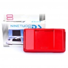 Full Replacement Housing Case with Buttons and Screws for NDS (Scarlet + Black)