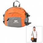 Naturehike-NH Multifunktions-Outdoor-Nylon Lagerung Waist Bag / Handtasche - Orange + Grau (8L)