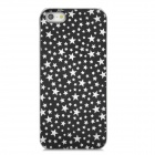 Star Pattern Protective Plastic Case for Iphone 5 - Black