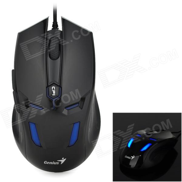 Genius GX-310 Wired Optical Gaming Mouse - Black