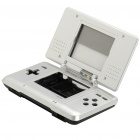 Full Replacement Housing Case with Buttons and Screws for NDS (Silver + Black)