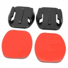 M-F Universal Flat Adhesive Mount w/ 3M Sticker for Gopro Hero 4/ 3+/3/2/1/SJ4000 (2 PCS)