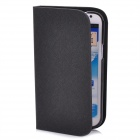 GTcoupe S-021 Protective PU Leather Case for Samsung Note 2 - Black