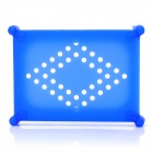 "Anti-Shock Silicone Protective Case with Ventilation Hole for 2.5"" HDD Hard Disk Drives - Blue"