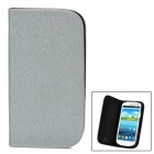 GTcoupe S-020 Protective PU Leather Case for Samsung Galaxy S3 - Silver
