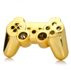 Replacement ABS Electroplating Housing Case for Sony PS3 Game Bluetooth Controllers - Golden