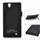 2800mAh Rechargealbe Power Battery Back Case for Sony L36H - Black