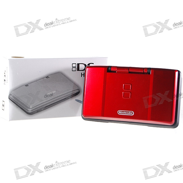 Full Replacement Housing Case with Buttons and Screws for NDS (Red + Black)