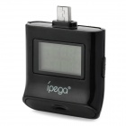 "iPega 01 1.0"" LCD Alcohol Tester for Samsung S3 / S4 / HTC / Xiaomi - Black"