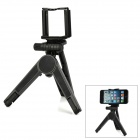 Desktop Style Cell Phone / Digital Camera / Tablet PC Stand Tripod - Black