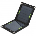 Miniisw SW070B Portable 7W 1050mAh Solar Panel Battery Pack for Cellphone - Black