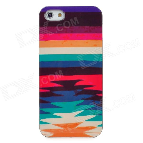 все цены на Protective Rainbow Plastic Back Case for Iphone 5 - Multicolor онлайн