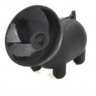 ZJ-24 Big Mouth Pig Style Cell Phone Stand w/ Suction Cup for Iphone - Black