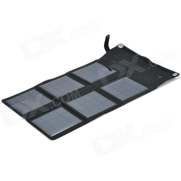 Miniisw SW180 18W Portable Foldable Solar Panel Notebook Mobilephone Battery Pack - Black