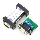 AP-LINK ap-oo1 RS-232 / RS-485 Active Data Communication Interfaced Converter - Black + Silver