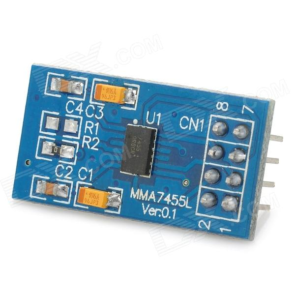 STM32 MMA7455L Acceleration Sensor Module - Blue user