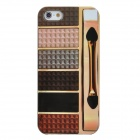 Protective Color Pallet Pattern Back Case for Iphone 5 - Multi-color