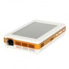 "WIZZ-PRO-A 5.0"" HD Capacitive Touch Android 4.0 Portable Smart Projector w/ Wi-Fi + Camera - White"
