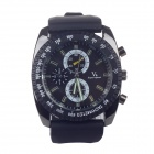 Super speed V6 V0122 Imitation Racer Quartz Wrist Watch for Man - Black (1 x LR626)